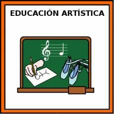EDUCACIÓN ARTÍSTICA - Pictograma (color)