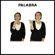 PALABRA - Signo