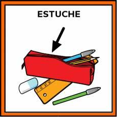 ESTUCHE (LAPICES) - Pictograma (color)