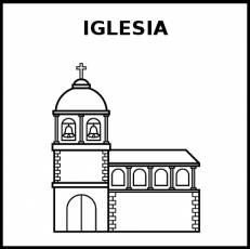 IGLESIA - Pictograma (blanco y negro)