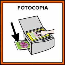 FOTOCOPIA - Pictograma (color)
