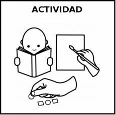 ACTIVIDAD - Pictograma (blanco y negro)