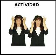 ACTIVIDAD - Signo