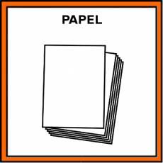 PAPEL (FOLIO) - Pictograma (color)