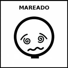 MAREADO - Pictograma (blanco y negro)