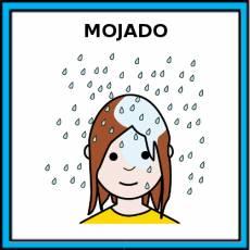 MOJADO - Pictograma (color)