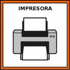 IMPRESORA - Pictograma (color)