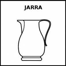 JARRA - Pictograma (blanco y negro)