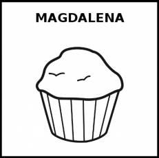 MAGDALENA - Pictograma (blanco y negro)
