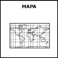 MAPA - Pictograma (blanco y negro)