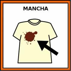MANCHA - Pictograma (color)