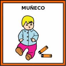 MUÑECO - Pictograma (color)