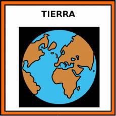 TIERRA (PLANETA) - Pictograma (color)