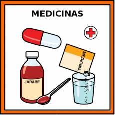 MEDICINAS - Pictograma (color)