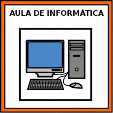 AULA DE INFORMÁTICA - Pictograma (color)