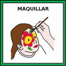 MAQUILLAR - Pictograma (color)