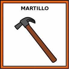 MARTILLO - Pictograma (color)