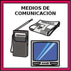 MEDIOS DE COMUNICACIÓN - Pictograma (color)
