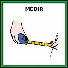 MEDIR - Pictograma (color)