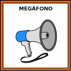 MEGÁFONO - Pictograma (color)