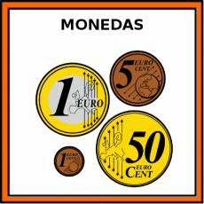 MONEDAS - Pictograma (color)