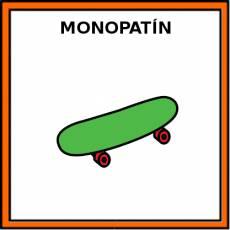 MONOPATÍN - Pictograma (color)