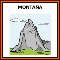 MONTAÑA - Pictograma (color)