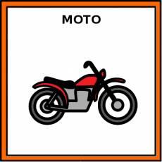 MOTO - Pictograma (color)