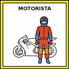 MOTORISTA - Pictograma (color)