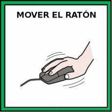 MOVER EL RATÓN - Pictograma (color)
