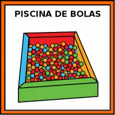 PISCINA DE BOLAS - Pictograma (color)