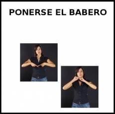 PONERSE EL BABERO - Signo