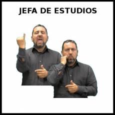 JEFA DE ESTUDIOS - Signo