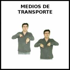 MEDIOS DE TRANSPORTE - Signo