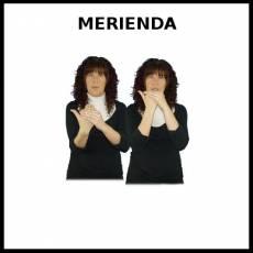 MERIENDA - Signo