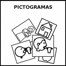PICTOGRAMAS - Pictograma (blanco y negro)