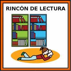 RINCÓN DE LECTURA - Pictograma (color)