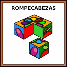 ROMPECABEZAS - Pictograma (color)