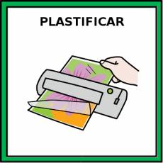 PLASTIFICAR - Pictograma (color)