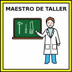 MAESTRO DE TALLER - Pictograma (color)