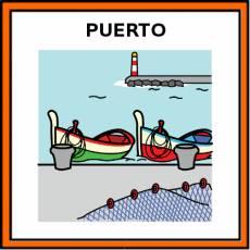 PUERTO (DE MAR) - Pictograma (color)