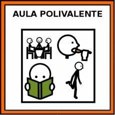 AULA POLIVALENTE - Pictograma (color)