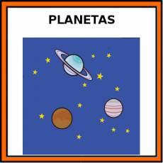 PLANETAS - Pictograma (color)
