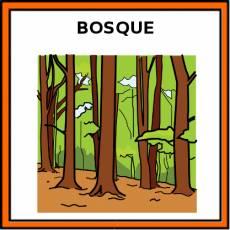 BOSQUE - Pictograma (color)