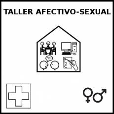 TALLER AFECTIVO SEXUAL - Pictograma (blanco y negro)
