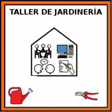 TALLER DE JARDINERÍA - Pictograma (color)