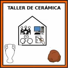 TALLER DE CERÁMICA - Pictograma (color)