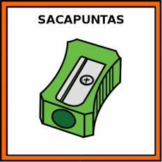 SACAPUNTAS - Pictograma (color)