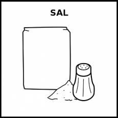 SAL - Pictograma (blanco y negro)