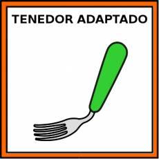 TENEDOR ADAPTADO - Pictograma (color)